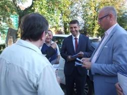 Rafał Nowacki rozpoczął kampanię wyborczą